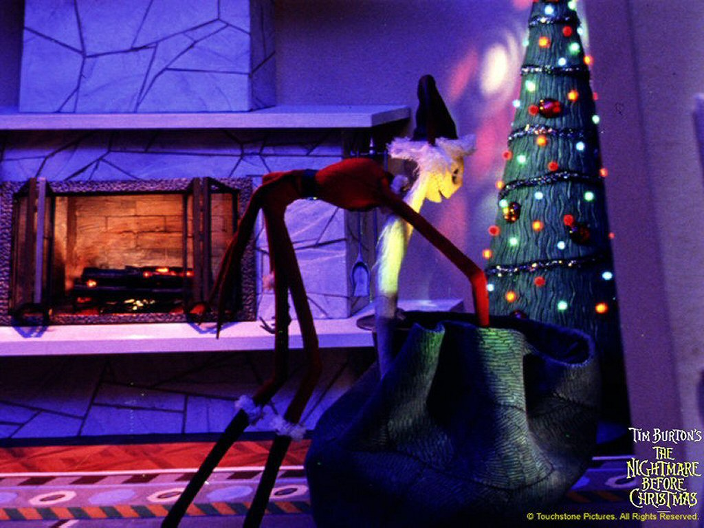 Nightmare Before Christmas Wallpaper Downloads from Cranky Critic®