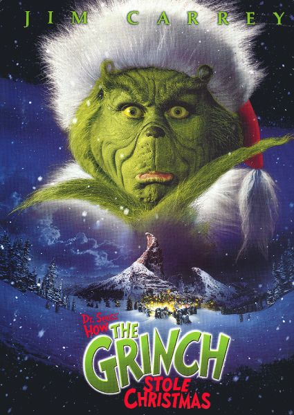 How The Grinch Stole Christmas: Cranky Critic® Movie Poster Downloads