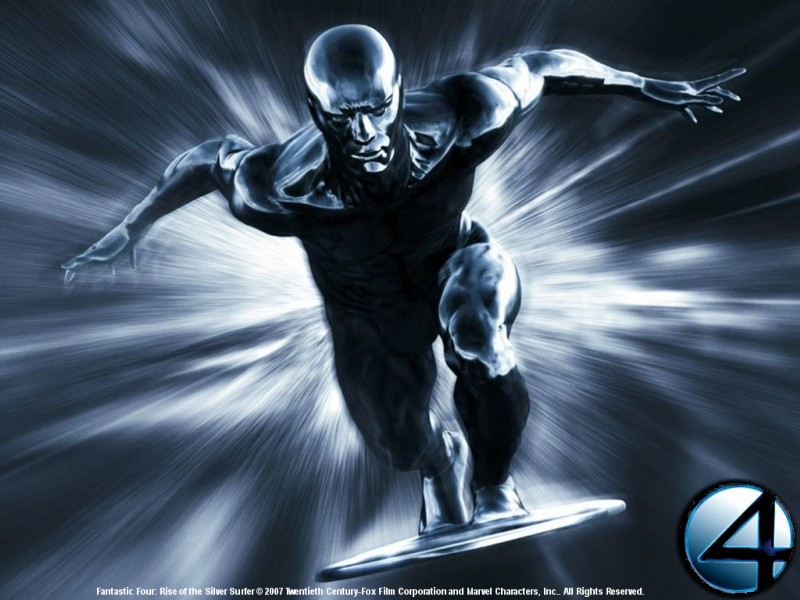 fantastic four rise of t he silver surfer