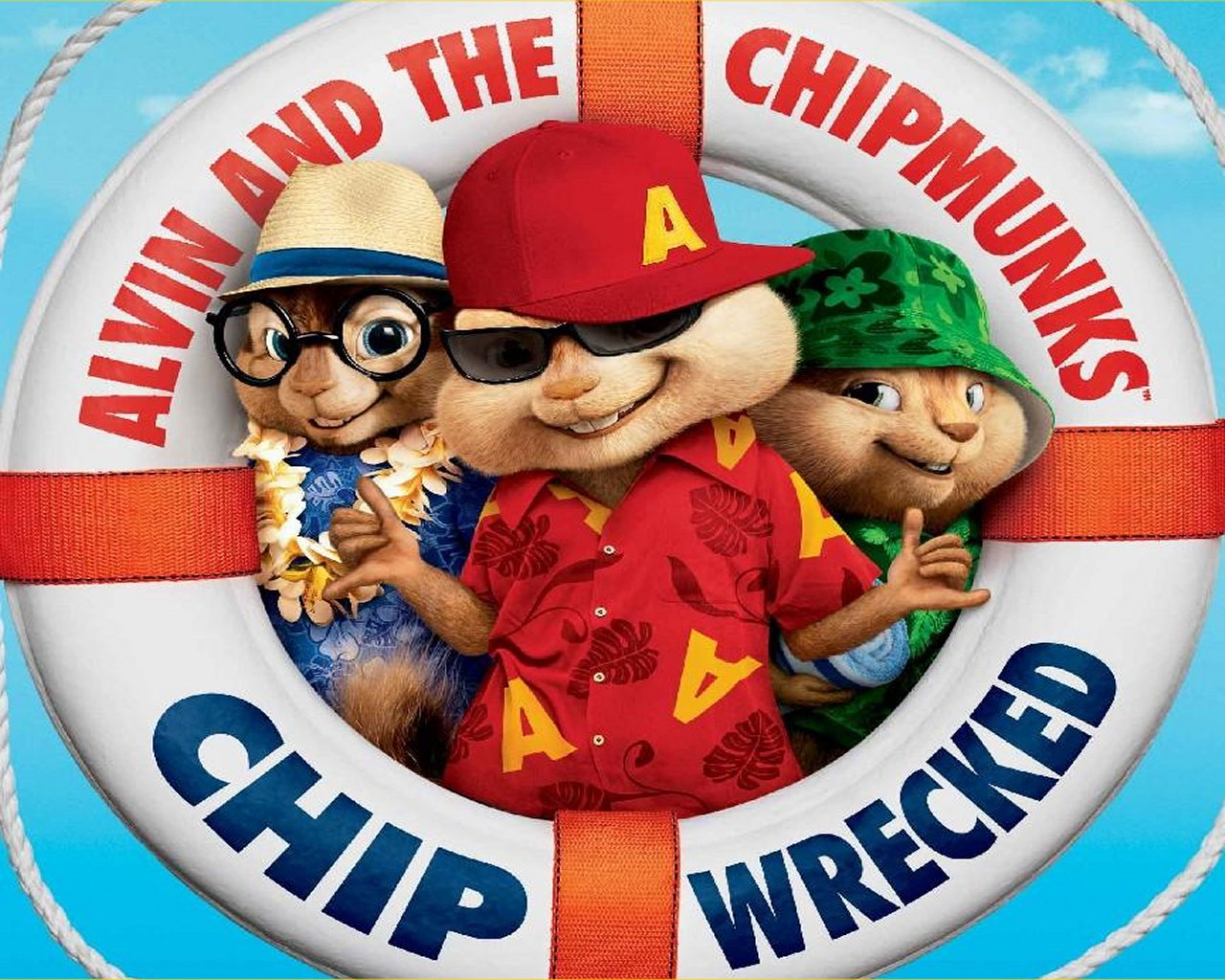 Alvin & the Chipmunks: Chipwrecked: Cranky Critic® Movie Wallpaper ...