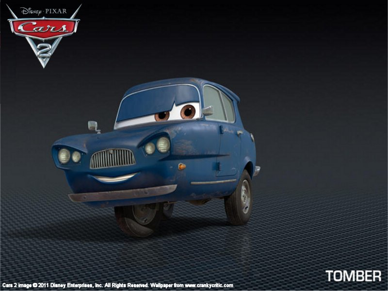 cars 2 tomber