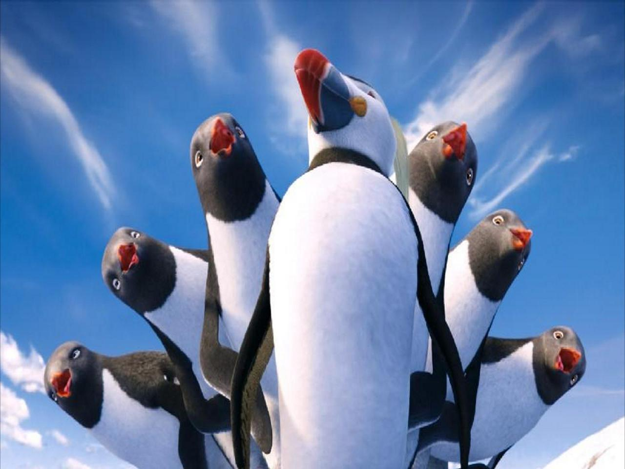 Happy Feet Two: Cranky Critic® Movie Wallpaper Downloads