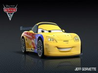 cars 2 jeff corvette