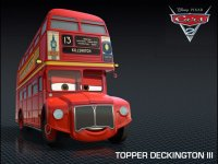 cars 2 topper deckington