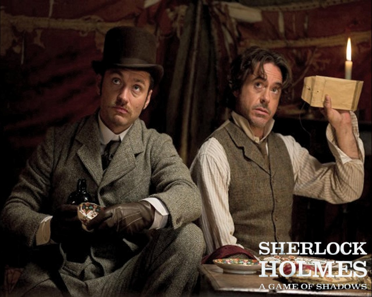 Sherlock Holmes A Game of Shadows: Cranky Critic® Movie Wallpaper ...