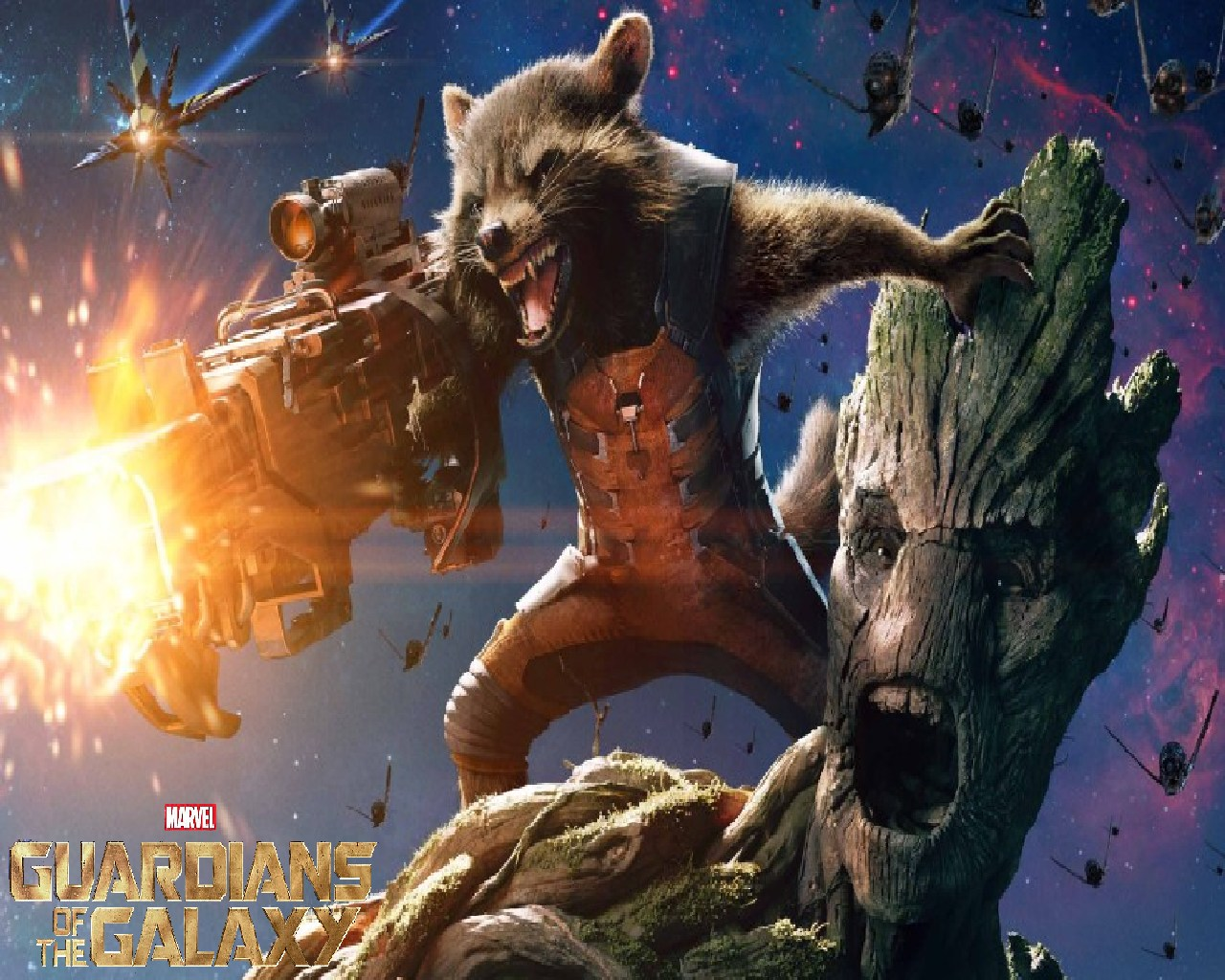 Guardians of the Galaxy wallpaper: Cranky Critic® Movie Wallpaper ...